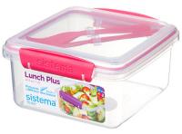 Контейнер для продуктов Sistema To-Go Lunch Plus 1.2 л Red (21652) фото