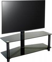 Стойка для ТВ MetalDesign MB-55-1 Black/Black