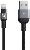 Кабель Adam Elements Apple Lightning PeAk 120B Grey (ACBAD120MBFR3GY) фото