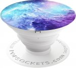 Кольцо-держатель Popsockets Monkeyhead Galaxy Light Blue (101747)