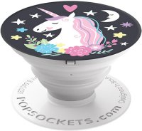 Кольцо-держатель Popsockets Unicorn Dreams Black (800025)