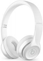 Купить Беспроводные наушники с микрофоном Beats, Solo3 Wireless Gloss White (MNEP2EE/A)