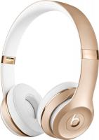 Купить Беспроводные наушники с микрофоном Beats, Solo3 Wireless Gold (MNER2EE/A)