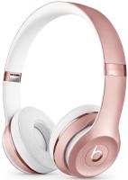 Купить Беспроводные наушники с микрофоном Beats, Solo3 Wireless Rose Gold (MNET2EE/A)