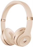 Купить Беспроводные наушники с микрофоном Beats, Solo3 Wireless Satin Gold (MUH42EE/A)