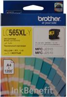 Картридж Brother LC565XLY фото