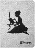 Чехол для электронной книги Vivacase Girl White (VUC-CGR01-w)