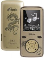 Мультимедиа плеер Ritmix RF-4850 8GB Gold
