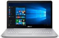 "Игровой ноутбук ASUS N752VX-GC218T (Intel Core i5-6300HQ 2.3GHz/17.3""/1920х1080/4GB/1TB/NVIDIA GeForce GTX 950M/DVD-RW/Wi-Fi/Bluetooth/Win10 Home)"
