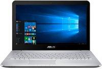 "Игровой ноутбук ASUS N552VW-FY252T (Intel Core i5-6300HQ 2.3GHz/15.6""/1920х1080/12GB/2TB HDD + 128GB SSD/nVidia GeForce GTX960M/DVD±RW/Wi-Fi/Bluetooth/Win 10 Home x64)"