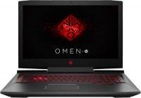 "Игровой ноутбук HP Omen 17-an005ur (1ZB13EA) (Intel Core i5-7300HQ 2.5Ghz/17.3""/1920х1080/8GB/1TB HDD/NVIDIA GeForce GTX1050/DVD±RW/Wi-Fi/Bluetooth/Dos)"