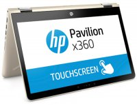 "Ноутбук-трансформер HP Pavilion x360 14-ba021ur (1ZC90EA) (Intel Core i5-7200U 2.5Ghz/14""/1920х1080/6GB/1TB HDD + 128GB SSD/NVIDIA GeForce 940MX/DVD нет/Wi-Fi/Bluetooth/Win 10)"