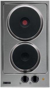Купить встраиваемая электрическая варочная панель Zanussi ZEE3921IXA в интернет-магазине ЭЛЬДОРАДО. Цена Zanussi ZEE3921IXA, характеристики, отзывы