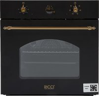 Независимый электрический духовой шкаф Ricci REO-630BL