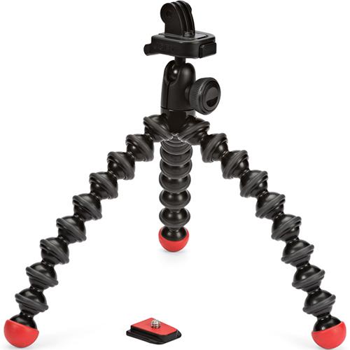 Штатив Joby JB01300-BWW GP2C-WW с креплением для GoPro Black/Red