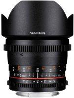 Объектив Samyang 10mm T3.1 VDSLR Canon