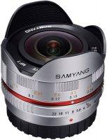 Объектив Samyang 7.5mm f/3.5 AS IF UMC Fish-eye micro 4/3 Silver