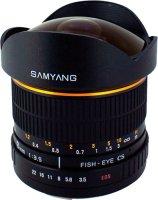 Объектив Samyang 8mm f/2.8 AS IF UMC Fish-eye Fujifilm X