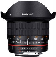 Объектив Samyang 12mm f/2.8 ED AS NCS Fish-eye Sony E
