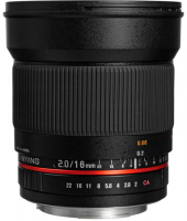 SAMYANG 16MM F/2.0 ED AS UMC CS FUJIFILM