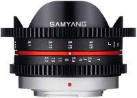 Объектив Samyang 7.5mm T3.8 Fish-eye VDSLR micro 4/3 Black