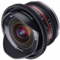 Объектив Samyang 8mm T3.1 Fish-eye CINE Sony E-mount Black