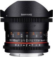Объектив Samyang 12mm T3.1VDSLR ED AS NCS Fish-eye SonyA (Minolta)