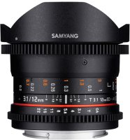 Объектив Samyang 12mm T3.1 VDSLR ED AS NCS Fish-eye Micro 4/3