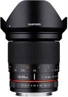 Объектив Samyang 20mm f/1.8 ED AS UMC Sony A
