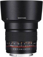 Объектив Samyang 85mm f/1.4 AS IF Micro 4/3