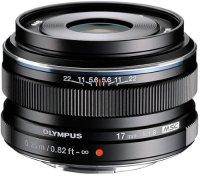 Объектив Olympus M.Zuiko Digital 17mm 1:1.8 Black