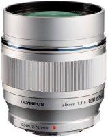 Объектив Olympus M.Zuiko Digital ED 75mm 1:1.8 Silver