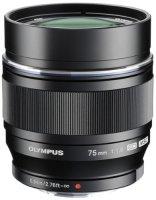 Объектив Olympus M.Zuiko Digital ED 75mm 1:1.8 Black