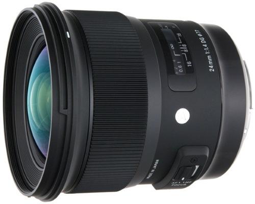 Объектив Sigma 24mm F1.4 DG HSM Art Canon