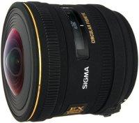 Объектив Sigma 4.5mm F2.8 EX DC Fisheye HSM Sony