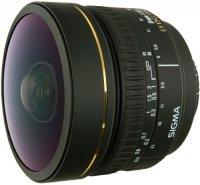 Объектив Sigma 8mm F3.5 EX DG Fisheye Canon