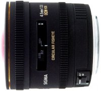 Объектив Sigma 4.5mm F2.8 EX DC Fisheye HSM Canon