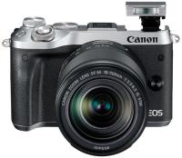 Купить Системный фотоаппарат Canon, EOS M6 EF-M 18-150 IS STM Kit Silver