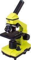 Микроскоп Levenhuk Rainbow 2L Plus Lime (69044)