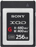 Карта памяти Sony XQD 256GB 440R/400W (QDG256E) фото