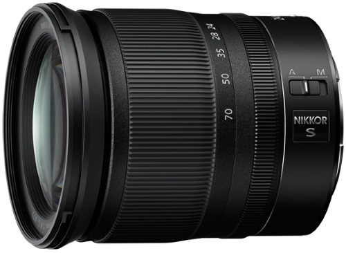 Объектив премиум Nikon Nikkor Z 24-70mm f/4 S