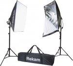Комплект флуоресцентных осветителей Rekam CL-250-FL2-SB Kit