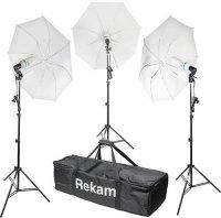 Комплект флуоресцентных осветителей Rekam CL-375-FL3-UM Kit
