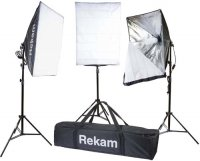 Комплект флуоресцентных осветителей Rekam CL-375-FL3-SB Kit