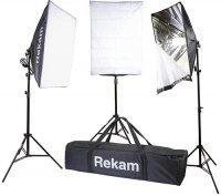 Комплект флуоресцентных осветителей Rekam CL-465-FL3-SB Kit