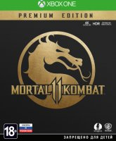 Игра для Xbox One WB Mortal Kombat 11 Premium Edition