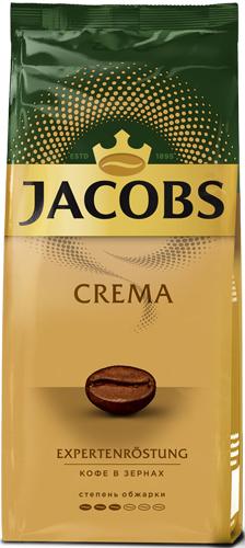 Кофе в зернах Jacobs Crema, 230 г