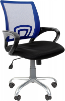Кресло Chairman 696 Silver Blue фото