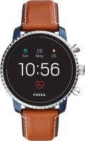 Купить Смарт-часы Fossil, Gen 4 Explorist HR Tan Leather (FTW4016)