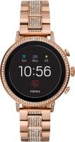 Купить Смарт-часы Fossil, Gen 4 Venture HR Rose Gold Tone Stainless Steel (FTW6011)